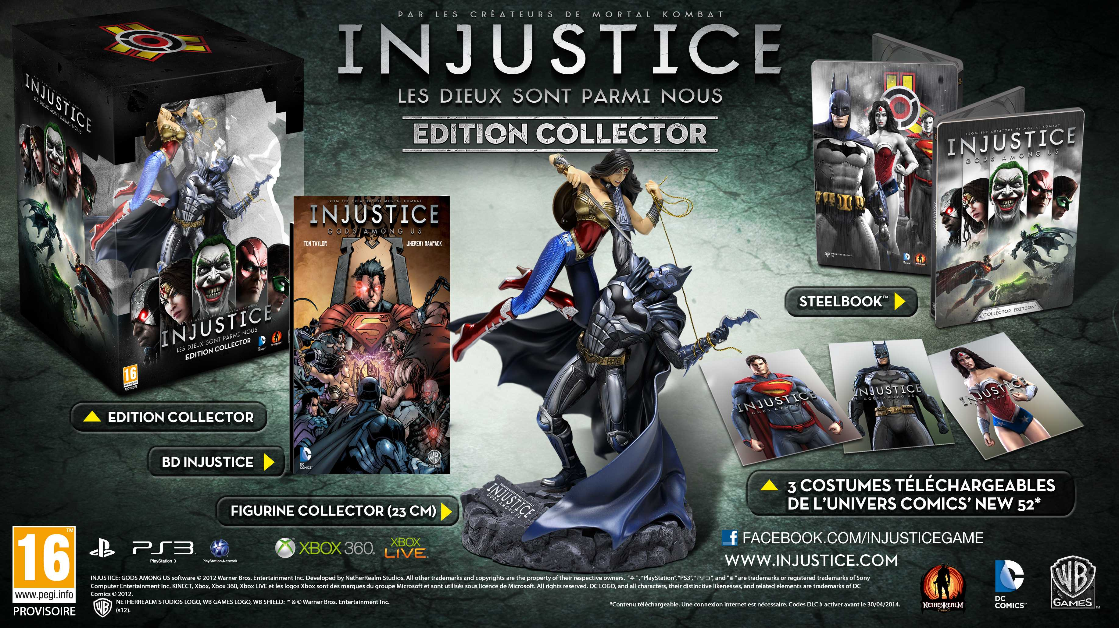 injustice collector