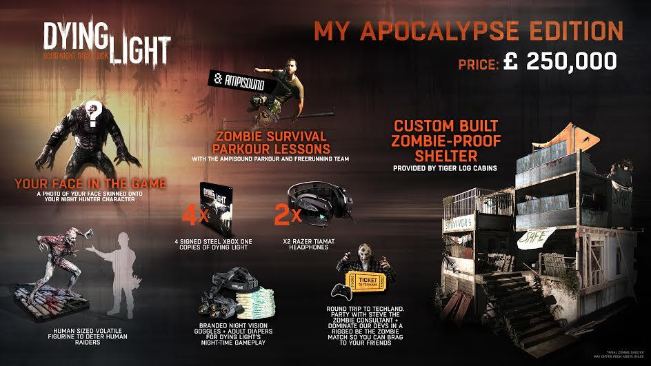Dying Light 250000livres