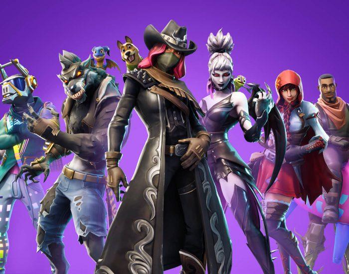 personnages fortnite skins loading